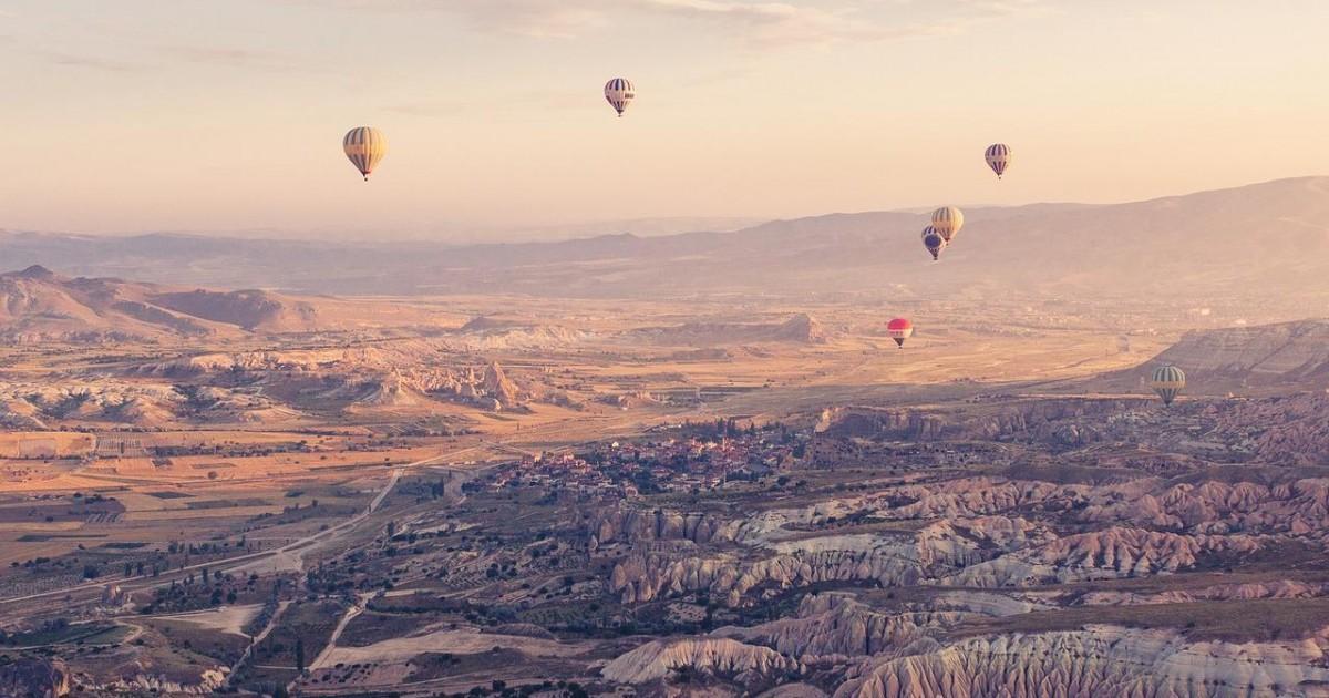 Expérimenter le vol en montgolfière en Cappadoce